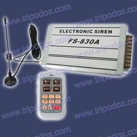 Newest Police Siren, Wireless Remote Control Siren, 150W/200W/300W/400W can be available.
