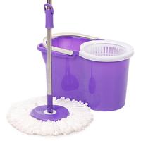 Blue double mop rotating mop magic mop bucket mop 4 tractors