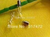 Freeshipping!!! Gourd shape Vial Charm Perfume Ashes Bottle Pendant (miniature/glass/bottles/wish/vials/mini/pendant)