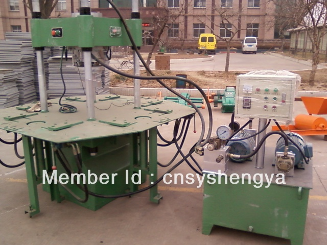 SY7502 automtic hydraulic color paving brick making machine(China (Mainland))