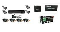 4ch CCTV System 480TVL Waterproof IR Cameras Network D1 DVR Recorder 4ch CCTV Systems Security Camera Video System DVR Kit