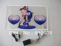 hot sales free shipping 50*30cm  el car sticker/equalizer el car sticker/sound active el car sticker
