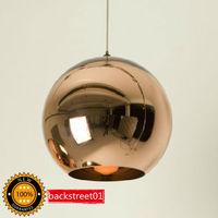 Tom Dixon Copper Shade Mirror Ball Pendant Lamp Lighting Diameter 35cm + Fast shipping