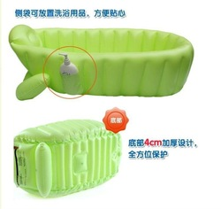 Free shipping(1pc)Inflatable baby tub/Soft Inflatable baby bathtub/Eco-friendly portable baby bath tubs(China (Mainland))