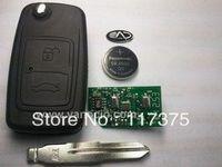 Chery A5  2 button flip remote key control 315mhz