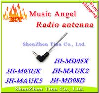 FM Radio antenna for Music angel JH-MAUK2 JH-MAUK5 JH-M03UK JH-MD05X JH-MD08D 10pcs/lot Free shipping