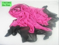 Free shipping, size 180*45 cms long scarf, design fashion shawl, polyester scarves in stock for wholesale, retail