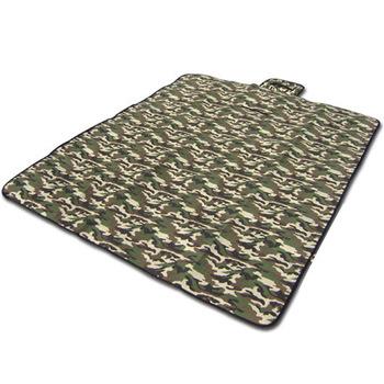 Muxincamp outdoor handle Camouflage beach mat picnic blanket mat crawling mat 180 150