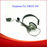 Free Shipping Earphone Headset & Microphone For XBOX 360