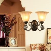 Fashion lamp classical iron lamps lighting double slider mirror light wall lamp b56017-2