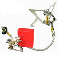 2013 New Portable Backpacking Picnic Camp Stove Gas Powered Stove Cookout Butane Burner Free Shipping