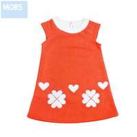 Children's clothing 2013 spring female child dress tank dress child princess dress one-piece dress 100% cotton children baby