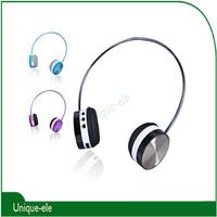 New Fashion Portable Bluetooth Headset Headphone Earphone  With Mic Free Shipping