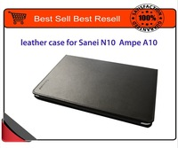 original leather case for sanei N10 Deluxe ampe a10 high quality with screen protector free