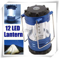 12 LED Bivouac Hiking Camping Light Lantern with Compass AA 9019(China (Mainland))