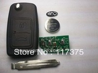 Chery A3  2 button flip remote key control 433mhz
