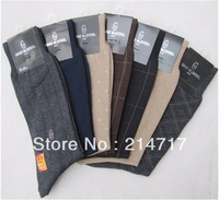 Freeshipping Crew Socks 2013 Soft Thin Socks Men Brand Cotton Tops Neon Harajuku Bamboo Health Care Dressed Socks
