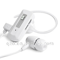 Hot! Unique Handsfree Stereo Bluetooth Wireless Headset with Support 2 Mobile Phone