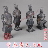 Qin terracotta warriors and horses decoration memorial crafts decoration 22cm