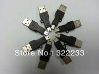 USB converter A male to Mini USB B Male Cable Adapter Converter 5 Pin Data Cable Male/M MP3 MP4 MP5 PDA DC Black 1000Pcs/Lot