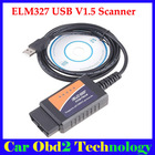 2013 ELM327 USB Interface OBD2 V 1.5 Auto Scanner USB elm327 OBD 2 II Car Diagnostic tool(China (Mainland))