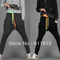 2013 free shipping new men's sports trousers male harem pants , man casual long feet pants double - waist sweatpants