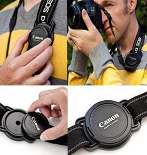 New arrival professional lens cap buckle suspenders buckle lens cover storage slr camera lenses rope