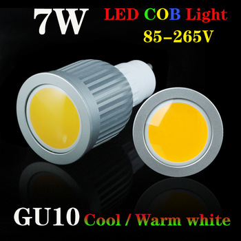 Energy saving 7W COB LED Ceiling light/down light GU10 Cool/Warm White 550-650LM