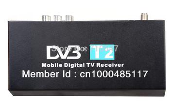 Russian HDMI mobile Car DVB-T2 DIGITAL TV RECEIVER high Speed H.264 MPEG4 1080P CVBS