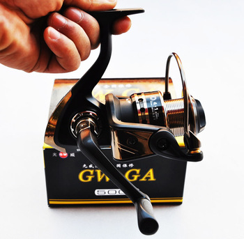 GUANGWEI g w . ga 1000 reel pole wheel metal fishing wheel spinning wheel gear fishing tackle fishing supplies