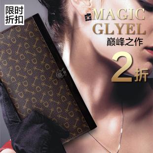 2012 vintage plaid classic long design women's multi card holder wallet