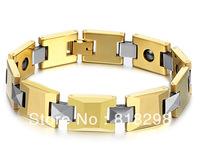 Hot selling free shipping     stainless steel bracelets fine jewelry fashion men stainless chain bracelet