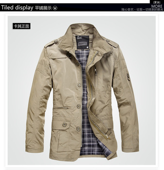 In the spring of leisure jacket thin coat contracted joker male jacket men's fashion jacket