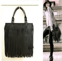 2013 the brand  tassel hand bags for women, the best fashion ladies evening hand bag free shipping women fur