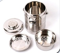 Free Shipping1800 ml Vacuum Double Wall Stainless Steel Lunch Box/Food Container/Thermos,Keep Food Warm