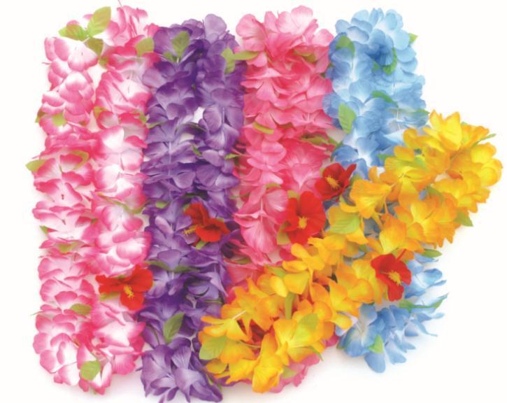 Hawaiian lei party favor