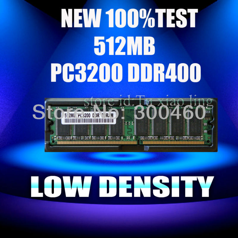 New Low-density 512MB pc3200 ddr400 400MHZ 184-pin Desktop non-ecc ram memory dimm Desktop memory work all the ddr motherboard(China (Mainland))