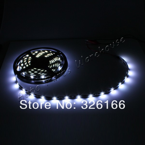 5M/Reel SMD5050 LED Strip Light waterproof IP65 36W White/Red/Blue/Green Flexible 30LED/meter 150LED Free shipping(China (Mainland))