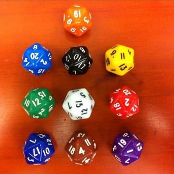 Leap table 20 dice bosons