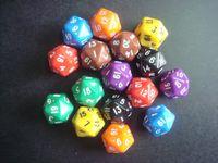 D20 multicolour boulimia 20 black dice bosons rejection of child