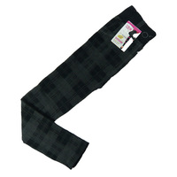 06 spring and stylish dark gray plaid cotton leggings nine points Yiwu wholesale was thin
