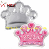 aluminum alloy cake moulds crown shape cake decorating tools cake pan crown NO.:ME12