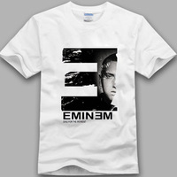 Hiphop t-shirt eminem em shady t-shirt