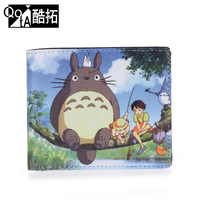 [ANYTIME] Totoro cartoon wallet male doodle wallet short design personalized
