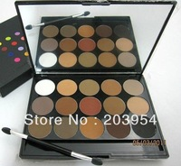 Free Shipping wholesale 2013 New arrival fashion 15 Color Eyeshadow Cosmetic Makeup Palette Eye Shadow mirror h132 for womens