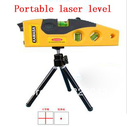 Free shipping cross line laser levels measuring tool with tripod rotary laser tool Hot sales spirit level factory sales(China (Mainland))