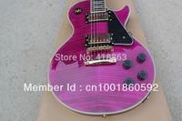 New product shelf  custom purple electric guitar fine workmanship