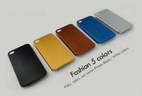 2013 A+++Quility Utrathin 0.3mm Latest titanium alloy Metal Case back cover for iphone 5 iphone5 5th bumper