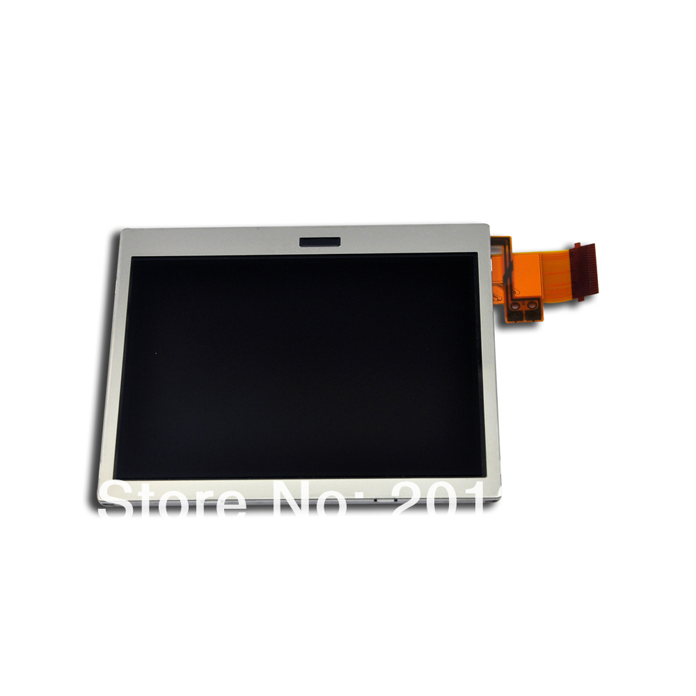 Bottom LCD Screen Replacement For Nintendo Ds Lite Dsl Us Ndsl Free shipping DHL 10pcs/lot(China (Mainland))