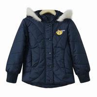 Whosale 9pcs Autumn winter dark blue Children Child girl Kids baby boy hoody hooded cardigan coat jacket outwear top WM0140